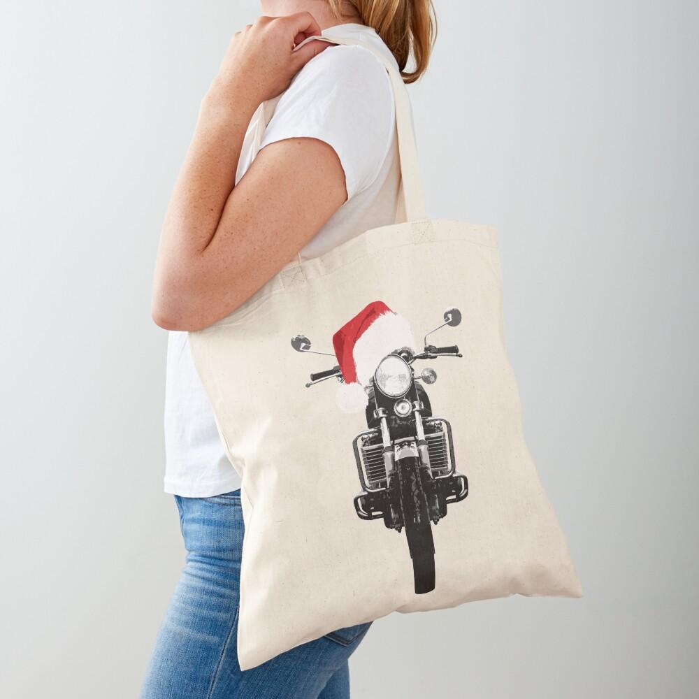 Suzuki GT750 Christmas Tote Bag