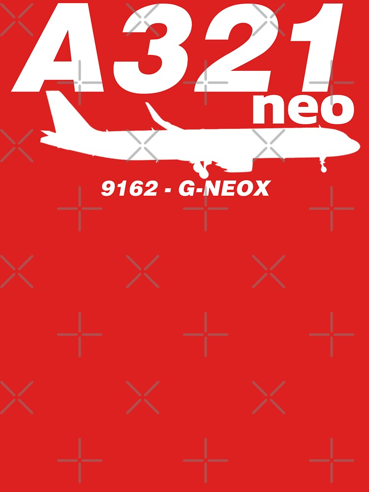 A321neo 9162 G-NEOX (White Print) by AvGeekCentral