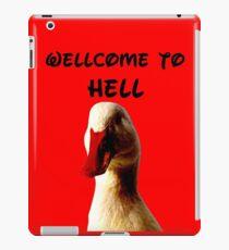 THE DEVIL DUCK iPad Case/Skin