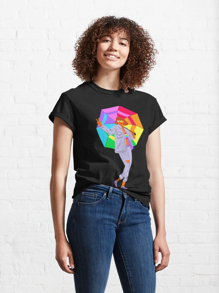 Alternate view of LGBT, Love is Love  Classic T-Shirt