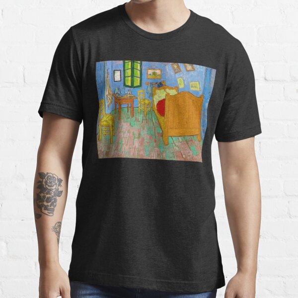 The Bedroom Van Gogh Best Original Painting 1889 Essential T-Shirt