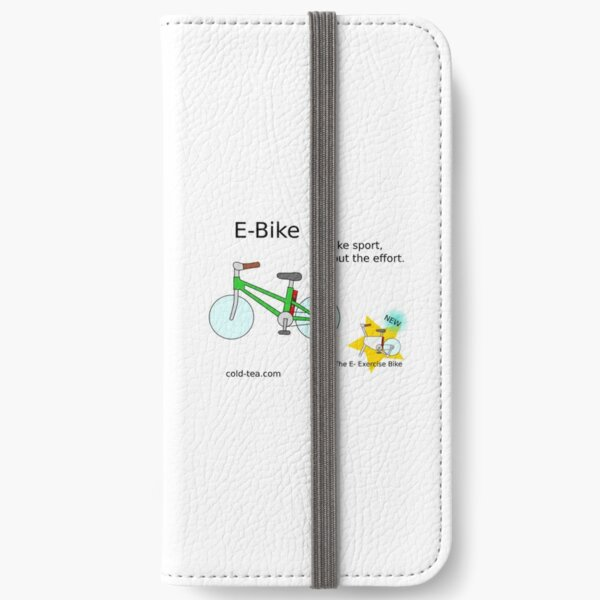 e-bike iPhone Wallet