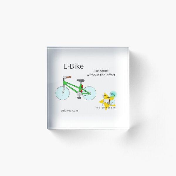 e-bike Acrylic Block
