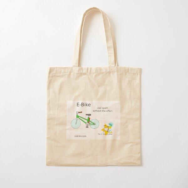 e-bike Cotton Tote Bag