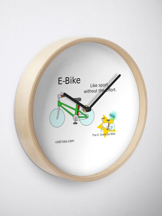Alternate view of e-bike Clock