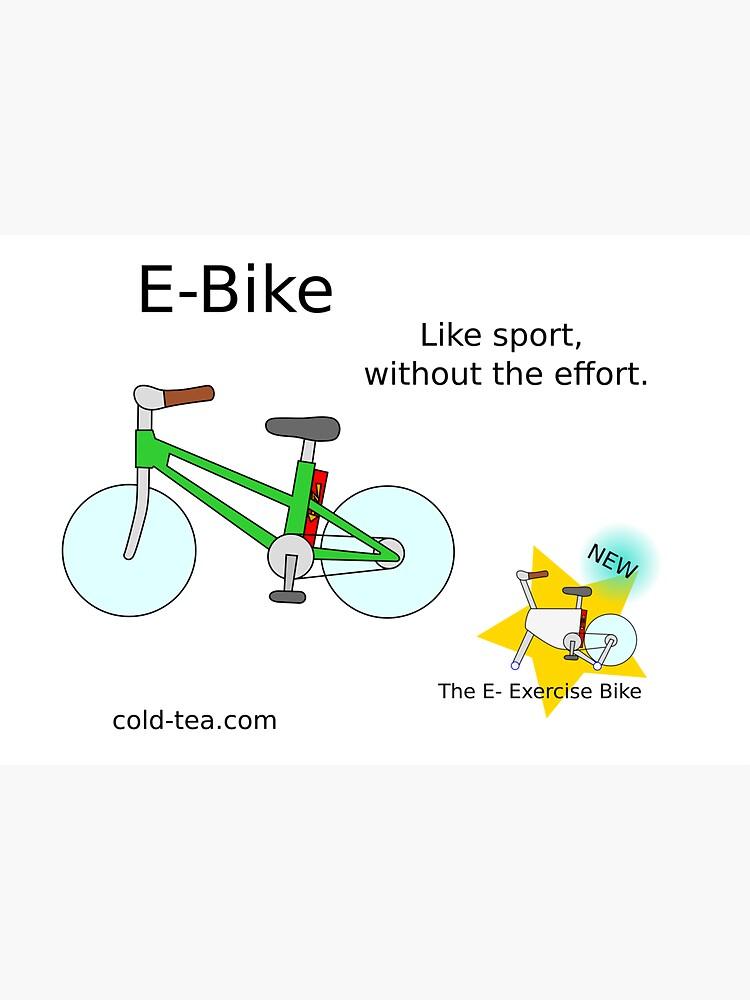 e-bike by coldteacomics