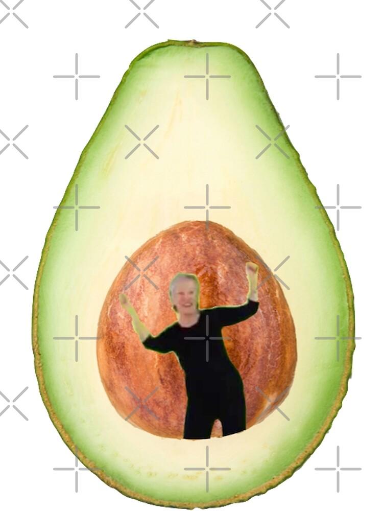 Avocado-Dame von Emmycap