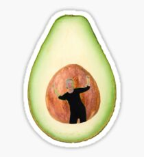 Avocado Lady Sticker