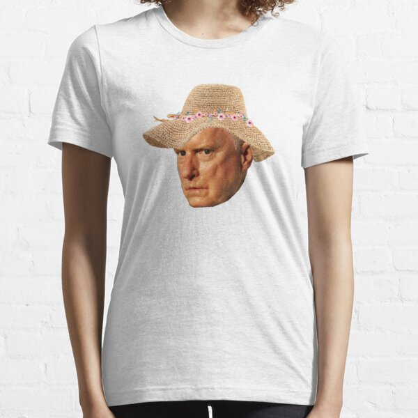 Alf Stewart Floral Hat Home and Away Essential T-Shirt