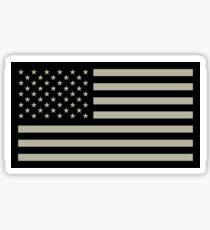 Pegatina Bandera del ejército estadounidense