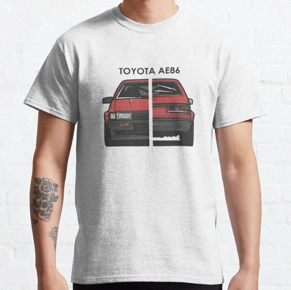 Toyota AE86 TRD T Shirt Slammed Stance Air Ride Static Modified Classic JDM