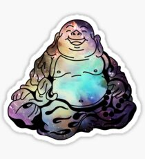 BUDDHA BOI IN SPACE Sticker