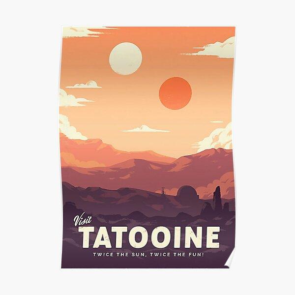 Visita Tatooine Póster