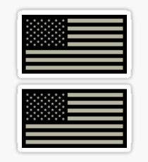US Military Flag Sticker
