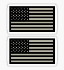 Pegatina Bandera militar de los Estados Unidos