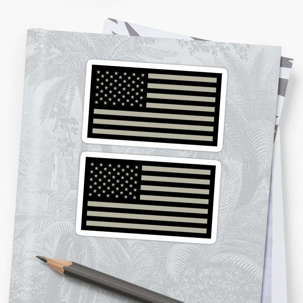 US Military Flag by states