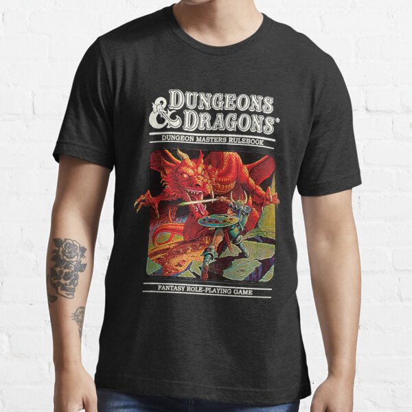 Dungeons and Dragons - DM rulerbook Cover Essential T-Shirt