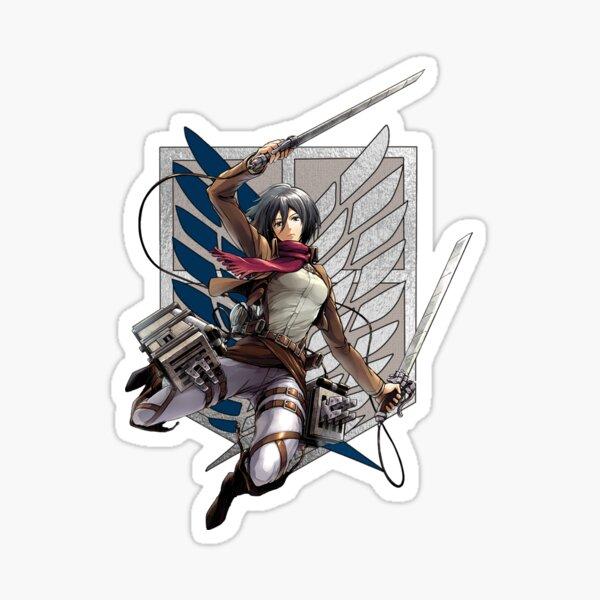 Survey corps - Mikasa Sticker