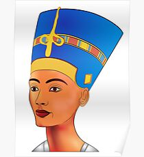 Nefertiti - queen of ancient Egypt Poster