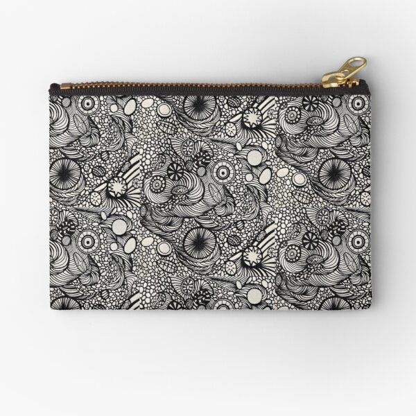 All Over The Place Zipper Pouch