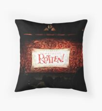 Someting Rotten! Throw Pillow