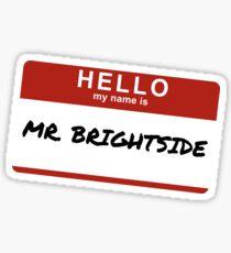 The Killers - Mr. Brightside Sticker