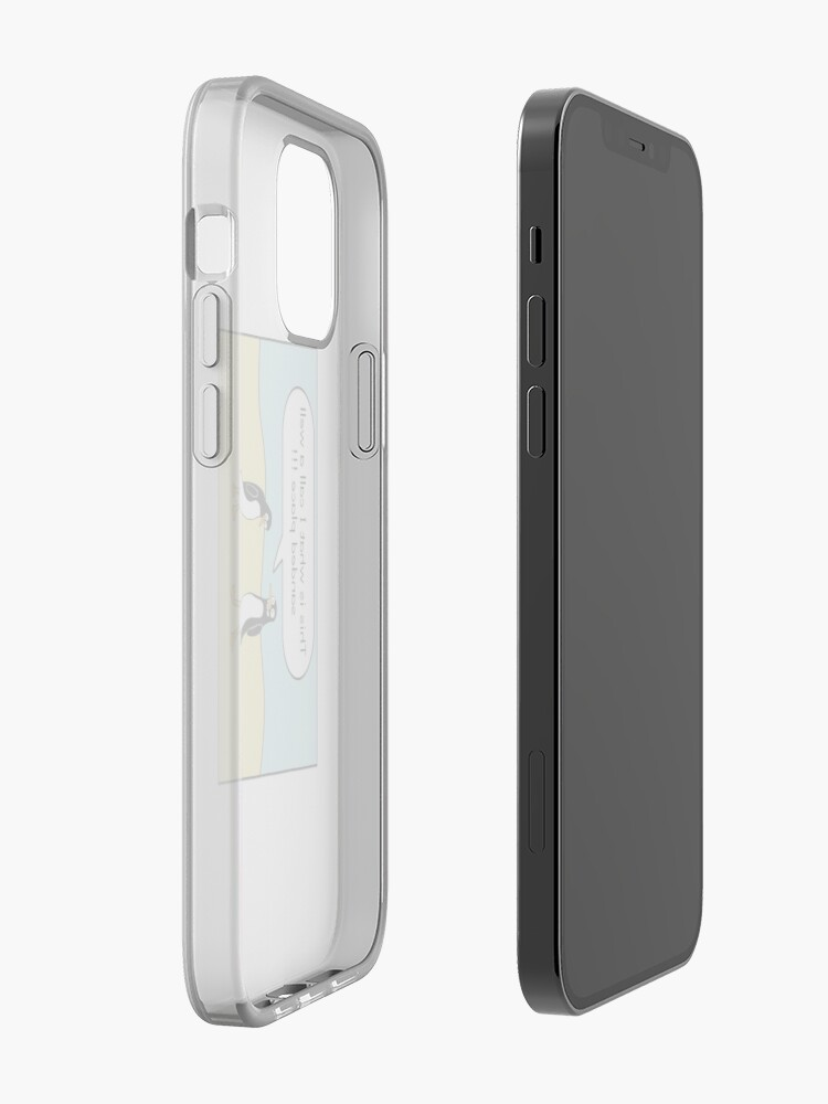 Alternate view of treacherous icy conditions iPhone Case & Cover