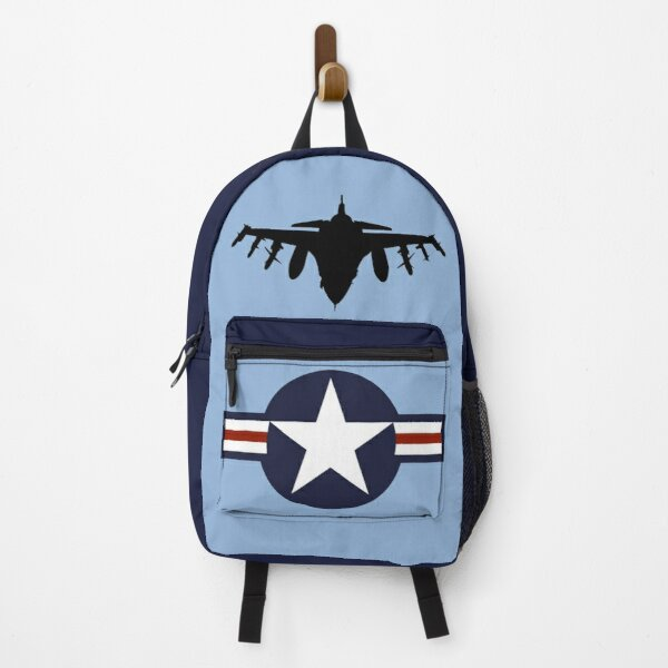 US Air Force military F16 aircraft design Backpack
