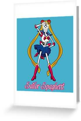 Undertale sailor papyrus greeting cards by zariaa redbubble undertale sailor papyrus by zariaa bookmarktalkfo Images
