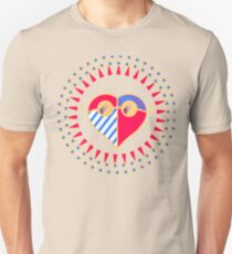 Love is Radically Blind (Color Ver.) Unisex T-Shirt