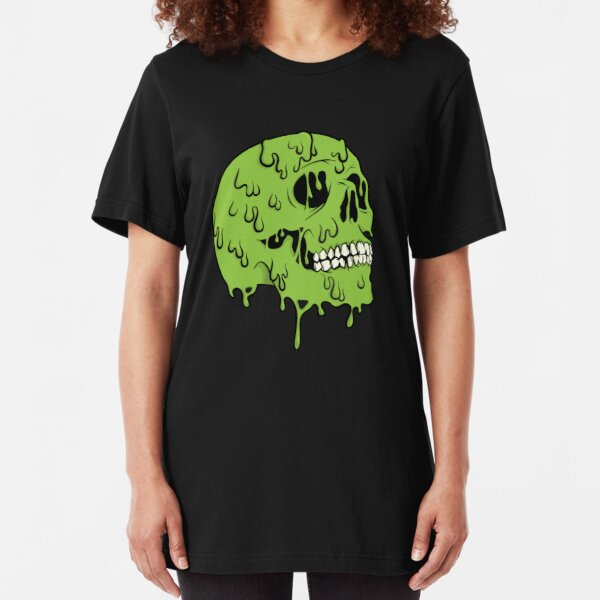 SLIME SKULL Slim Fit T-Shirt