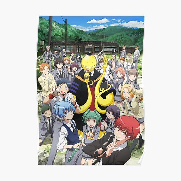 Japan Anime Attentat Klassenzimmer Poster