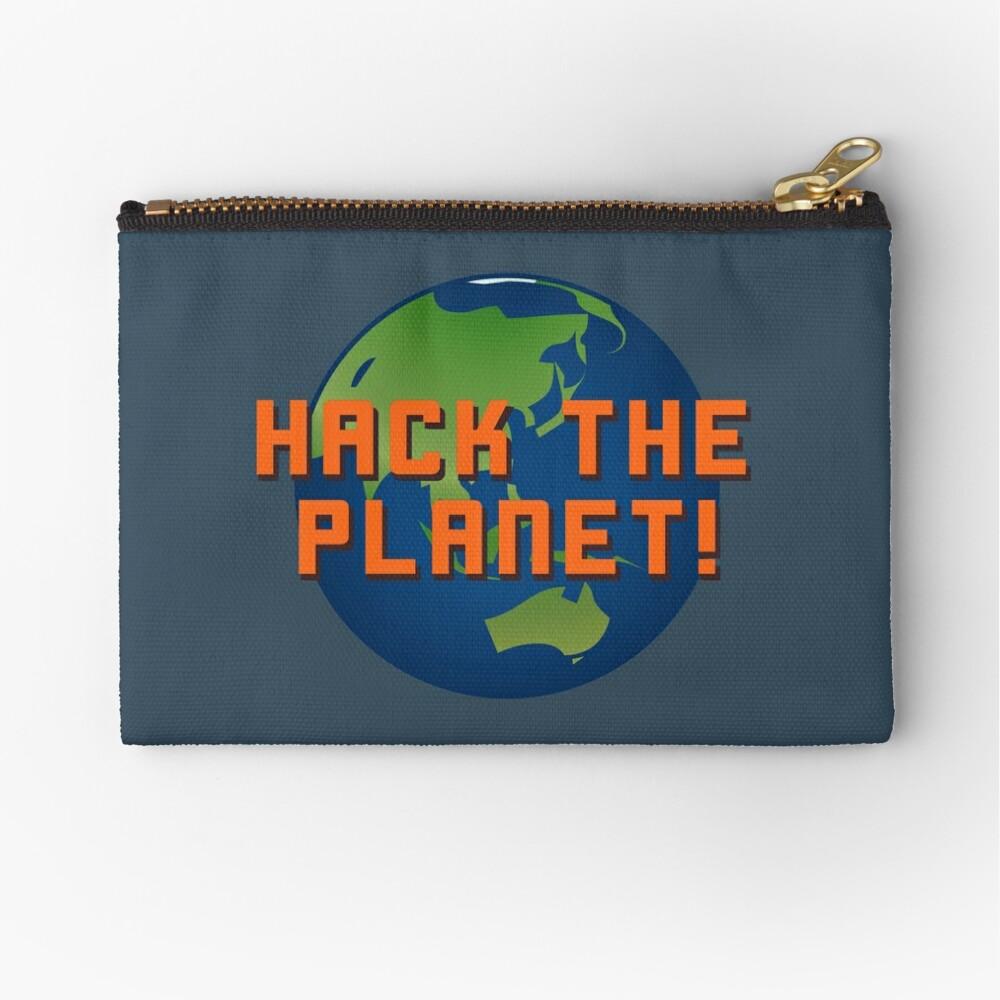 Hack The Planet! - Hackers Design Zipper Pouch