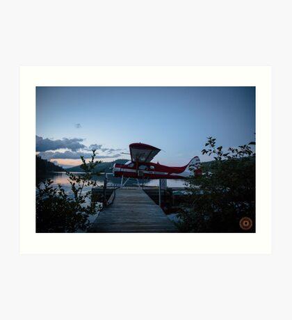 Air Saguenay - Seaplane Photo Art Print