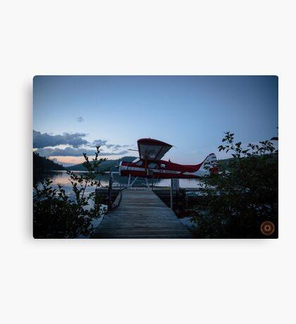 Air Saguenay - Seaplane Photo Canvas Print
