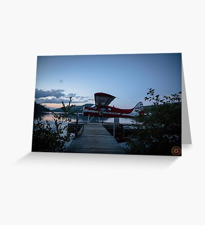 Air Saguenay - Seaplane Photo Greeting Card