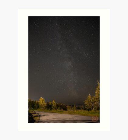 Starry Night - Milky Way Art Print