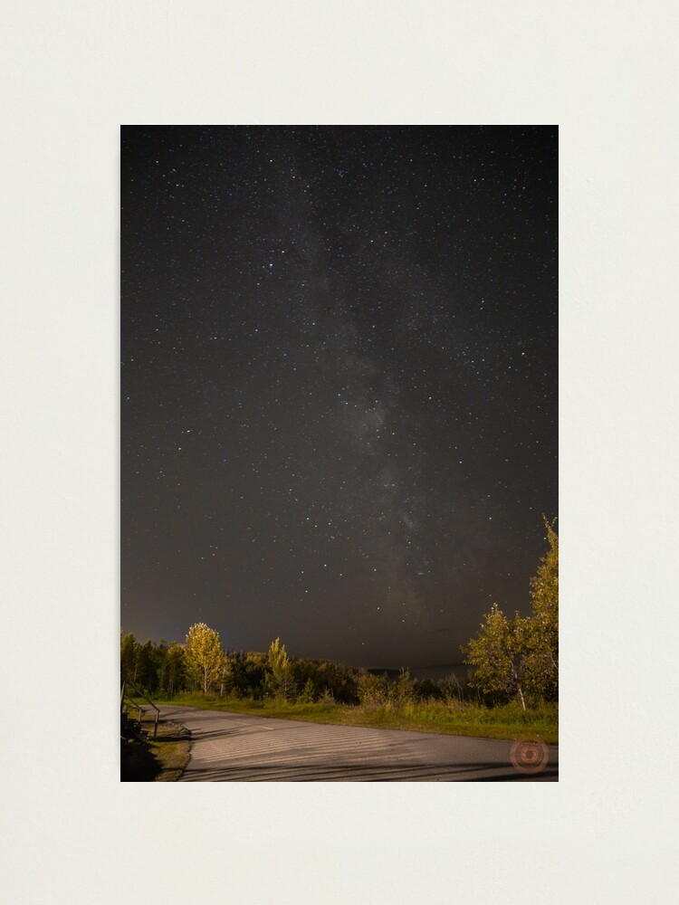 Alternate view of Starry Night - Milky Way Photographic Print