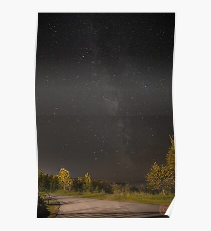 Starry Night - Milky Way Poster