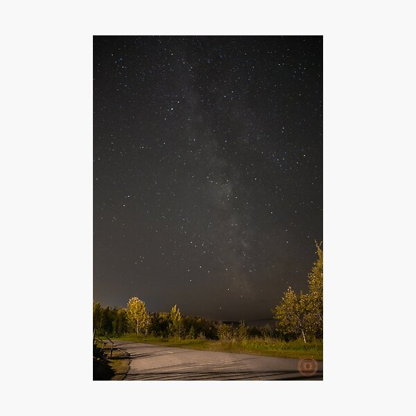Starry Night - Milky Way Photographic Print