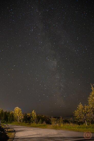 Starry Night - Milky Way by jpvalery