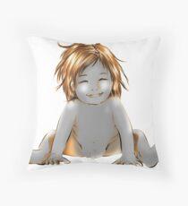 smily baby Throw Pillow