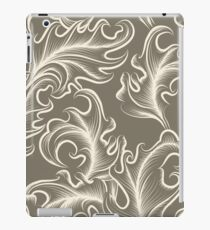 Victorian leaves Seamless pattern iPad Case/Skin