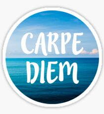 Carpe Diem (Seize the Day) Sticker