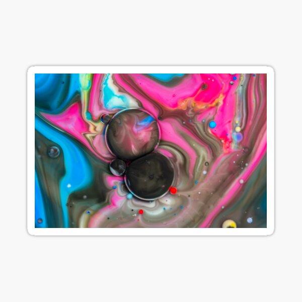 Bubbles Art Emilia Sticker