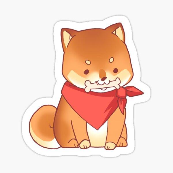 Rude Shiba Dog 3 - Chuchuw Sticker