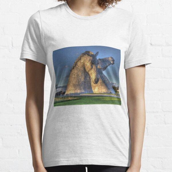 The Kelpies, Helix Park , Falkirk Essential T-Shirt