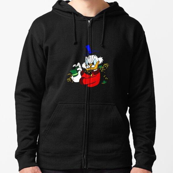 Scrooge McDuck Zipped Hoodie