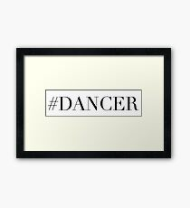 Dance Dancer Framed Print