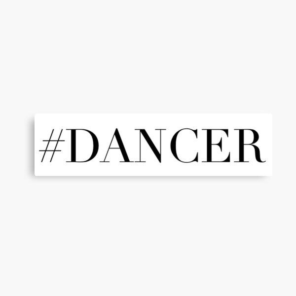 Dance Dancer Canvas Print